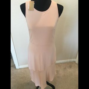 Rachel Roy peach dress. Size small
